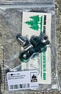 Tune Kxx Chainring Bolts Set 4 stück Green +4 Titanium Screw Sram Xx