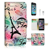 ( For iPhone 8 Plus / iPhone 8+ ) Case Cover P1836 Paris Eiffel Tower