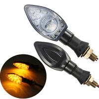 Universel 12V 13 LED SMD Clignotant Tour Signal Indicateur Éclairage Ambre Moto