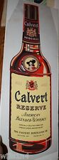 Calvert Reserve Whiskey bottle1956 Advertising George Bares illustrator art