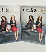 Rizzoli  Isles: The Complete First Season (DVD, 2011, 3-Disc Set) Season 1