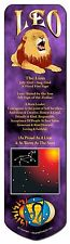 Leo Astrology Star Sign Birthday Gift Bookmark, Book Mark Stocking Fill, ZOD-5BM