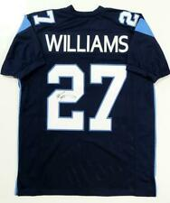 Ricky Williams Autographed Blue Pro Style Jersey- JSA W Auth *2