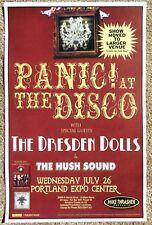 PANIC AT THE DISCO & DRESDEN DOLLS 2006 Gig POSTER Portland Oregon Concert