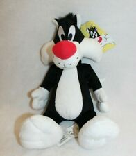 VINTAGE NEW Boots Looney Tunes Plush Soft Toy-Sylvester Cat-With Tags *Pristine*