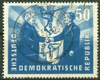 DDR 285 sauber gestempelt Vollstempel Polnische Freundschaft Michel 34 € used