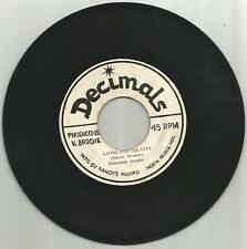 VALENTINE BRODIE / LIVING FOR THE CITY / BIG BAD CITY / 7''/