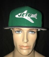 Mitchell & Ness Vintage Retro NY Jet's Snapback Hat Cap