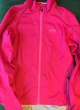 GORE BIKE WEAR Women's Medium Pink Gore-Tex Active Biking Jacket w/ HOOD