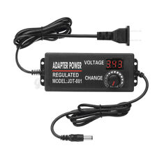 Adjustable Voltage 3 To 12v 5a Ac Dc Switch Power Supply Adapter Le