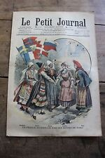 Petit journal shown No.924 1908 Country Nordic Robinsons of l'Ile Antipode