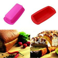 Toast Bread Loaf Cake Mold No-Stick Bakeware Baking Pan Oven Rectangle Mould LG