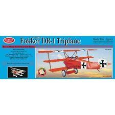 Guillow 204 Fokker Dr1 Triplane Laser Cut Model Kit