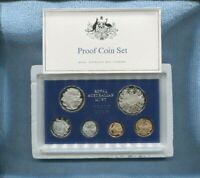 1969  Australia Proof Coin Set  with Certificate and outer Foams J-670