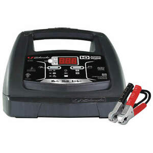 """SCHUMACHER ELECTRIC SC1362 Battery Charger,120VAC,10-25/64"""" W"""