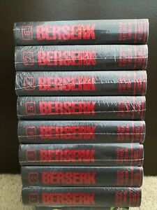 Berserk Deluxe Edition English Manga Vol 1-8 **Brand New SEALED!!**