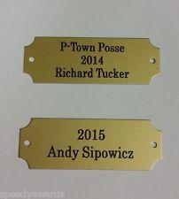 Fantasy Football Perpetual Trophy Plates - FREE Engraving