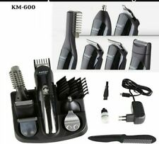 Genuine Kemei KM-600 Multi function adult rechargeable razor electric razor