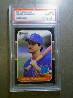 RAFAEL PALMEIRO 1987 Donruss #43 Rookie Card Vintage Graded PSA 9 CHICAGO CUBS