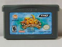 NINTENDO Gameboy Advance TAK The Great Juju Challenge GBA Game Free Shipping!