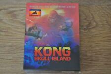KONG: SKULL ISLAND Full Slip Lenticular XL (Blu-ray + 3D, Steelbook) FAC #147