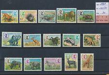LN59404 Swaziland 1969 wildlife animals fine lot MNH cv 30 EUR
