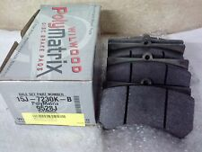 WILWOOD BRAKE PADS 15J-7230K-B Alcon, Wilwood