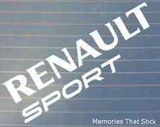 2x Renault Sport (Lrg) ventana de coche de parachoques 4x4 Jdm Euro Vw Dub Vinilo calcomanía adhesivo