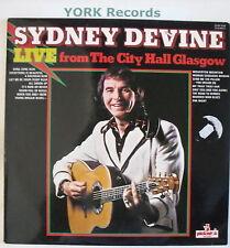 SYDNEY DEVINE - Live From Glasgow - Ex Con LP Record
