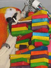 Parrot Pet Bird Toy Extra Large Woodpile