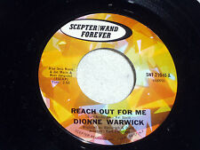 Dionne Warwick: Reach Out For Me / Many Days of Sadness [Unplayed Copy]
