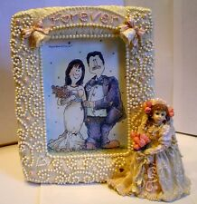 """Boyds-Tiffany.""""Forev er"""" Photo Frame from The Dollstone Collection (Bb12)"""