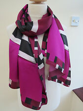 Ted Baker London Stenciled ObLong Silk Scarf Shawl - PRETTY!!