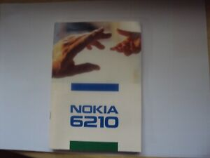 ORIGINAL Nokia 6210 Official Manual Mobile Phone GUIDE 86 PAGES