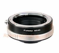 Nikon G AFS Lens to Samsung NX1 NX3000 NX300M NX300 NX Adapter Aperture Control