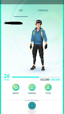 Pokemon-Go-account Level 25-27 - Choose Team - 2016 Legacy for trade
