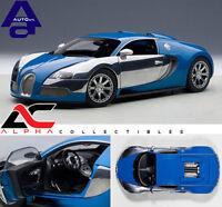 AUTOART 70956 1:18 BUGATTI VEYRON L'EDITION CENTENAIRE FRENCH BLUE/JEAN-PIERRE
