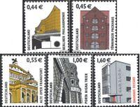 BRD (BR.Deutschland) 2298-2302 (kompl.Ausg.) gestempelt 2002 Sehenswürdigkeiten