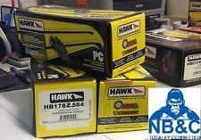 HAWK PERFORMANCE CERAMIC FRONT PADS suit NISSAN SILVIA 2.0L TURBO SR20DET S15