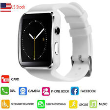 Lady Bluetooth Smart Watch Wristwatch For Android Samsung Galaxy S9 S8 S7 S6 S5