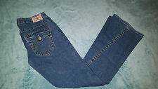 TRUE RELIGION 'Joey' Ladys Jeans Size: W 28 L 32 VERY GOOD Condition