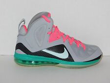 Nike Lebron 9 IX P.S. Elite South Beach SZ 11.5 516958 001 PS Pre Heat Miami