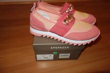 APEPAZZA  LEATHER TEXTILE CORAL  WOMEN'S SHOES 39