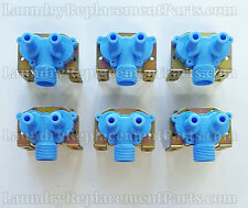 6 PACK DEXTER WASHER 2 WAY WATER VALVE 110v PART # 9379-183-001 NEW
