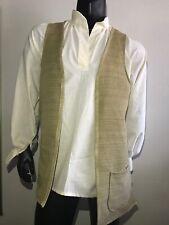 jack sparrow Waistcoat  Men's Pirate Costume Reinassance Size Xs-XL