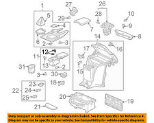 HONDA OEM 04-09 S2000 Center Console-Separator 77231S2AA52ZA