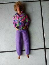 """Barbie Puppe -80- er Jahre Puppe-  bekleidet   """"Ken """" sieht toll aus Nr.15"""