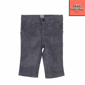 NANAN Flannel Trousers Size 6M Wool Blend Button Adjustable Waist Made in Italy