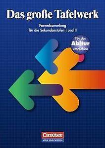Das große Tafelwerk - Östliche Bundesländer und Berlin: ... | Buch | Zustand gut
