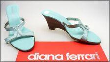 Diana Ferrari Leather Pumps, Classics Medium (B, M) Heels for Women